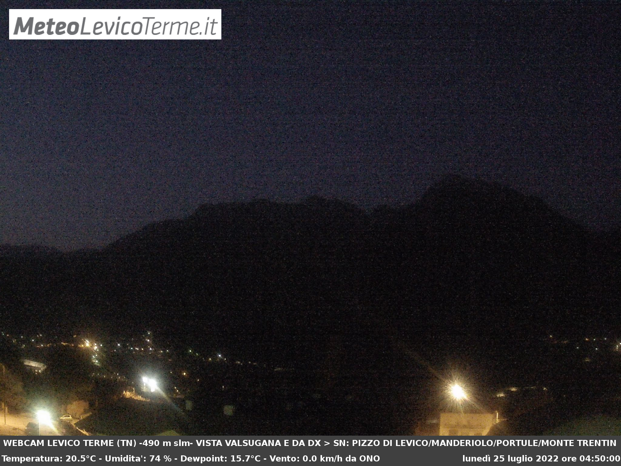 Webcam MeteoLevicoTerme